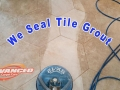 seal grout and tile