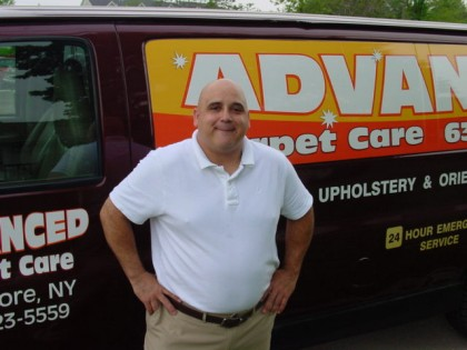 Long Island Carpet Cleaning Professional - Carpet cleaning truck image